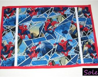 SIMPLE TABLE MAT, spiderman pattern - spiderman placemats - spiderman tablemats - spiderman place mats- spiderman table mats -