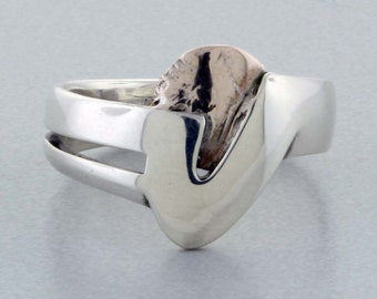 Sterling Silver & Alloy Ring - Size 11 1/2