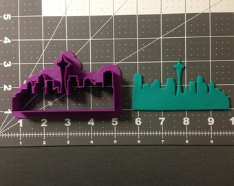 Seattle Skyline Cookie Cutter