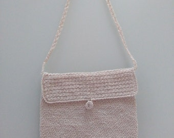 fine crochet handbag