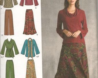 Womens Wardrobe New Sewing Pattern Simplicity 3568 Size 20W Thru 28W