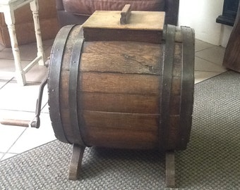 Antique butter churn in original condition