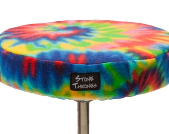 DRUM SEAT COVER - Tie Dye