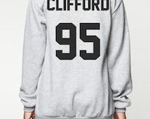 Michael Clifford shirt sweater women sweatshirt men shirt clifford 95 tshirt jumper long sleeve tshirt tee grey black