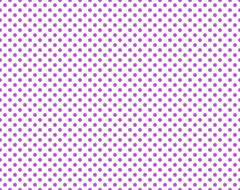 New Pricing and Packaging Classic Purple Polka Dot White Cardstock Paper