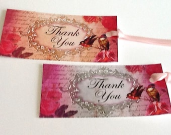 10 Thank You Gift/Thank You Tags