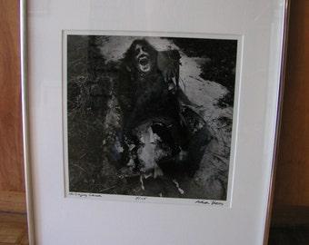 Arthur Tress, Singing Chair, 1977 signed