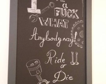 Blackboard - chalkboard