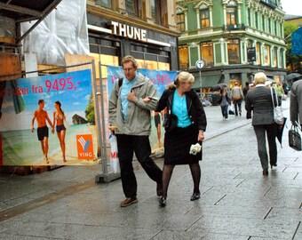 Fine Art Photography, Giclee Art Prints, Norwegian Art, Oslo, Street Photography, Housewarming Gift, Deborah Julian