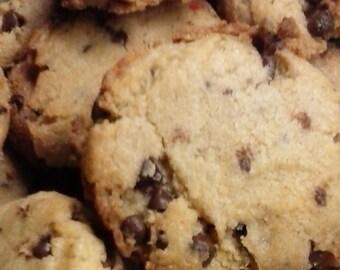 59 Cent Recipe-Gluten Free Chocolate Chip Cookie Recipe-Chocolate Chip Cookies-Sunshine's Gluten Free Flour-Homemade Gluten Free Cookies