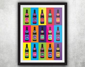 Cavan Cola Bottle – Warhol