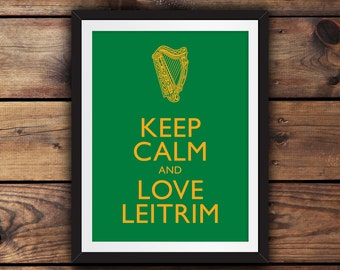 Keep Calm and Love Leitrim