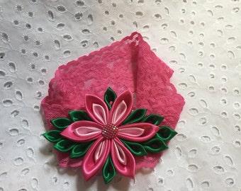 Flower headband for little baby girl