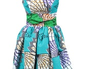 SALE!!!  Ade-Olori Mix-Print Ankara Dress