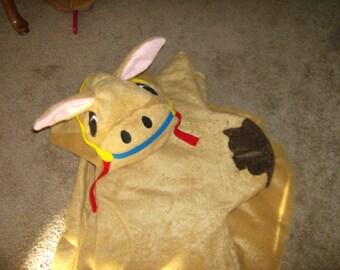 Camel Noahs Ark Animal Halloween Costume Custom Made GROWN UP Faux Fur