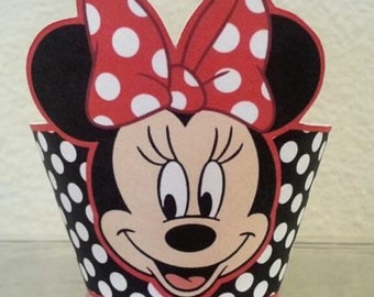 Minnie Mouse Cupcake Wrapper, Cupcake Liner