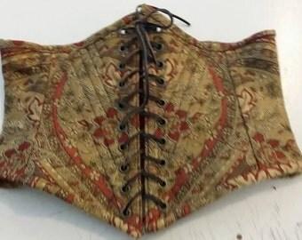Brocade Waist Cincher