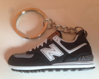 New balance Keychain ML 574 Black Black keychain