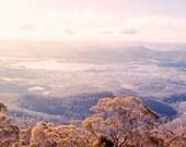 Snow home Decor Wall Art Wanderlust Tasmania Stnning Landscape Mount Wellington Original Fine Art Print 'Bucket List' moments