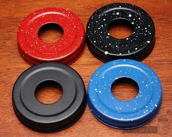4 Colors! Soap Pump Lid Adapters for Regular Mouth Mason Jars