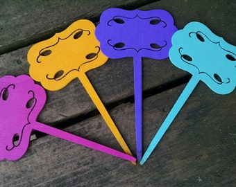 Bright Garden Stake Markers