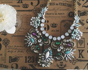 Delilah Statement Necklace