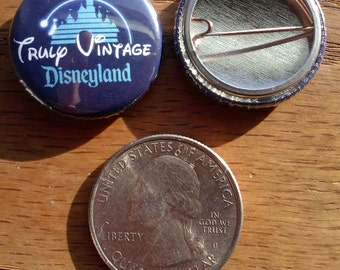 One Inch Truly Vintage Pin