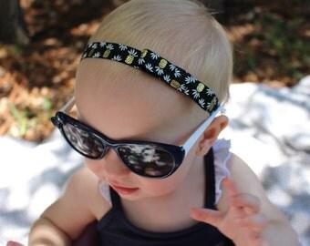 pineapple elastic baby headband
