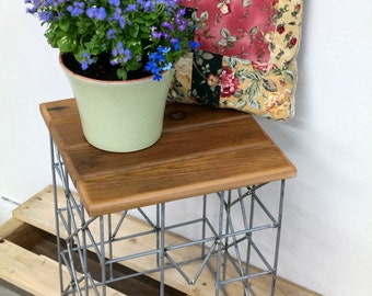 how to renovate wire outdoor planter stand