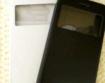 Plain Flip iPhone case full protection cases