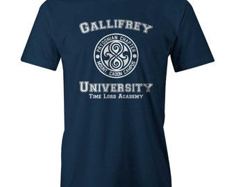 Dr Who Doctor Gallifrey University Tardis Time Lord New T-Sh