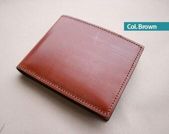 Bridle Leather Men's Wallet T / Billfold - 100% Handmade