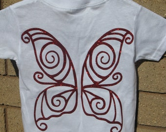 Fairy Wings Kid's T Shirt