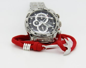 marine anchor on Paracord Bracelet