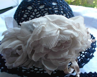 hat for the little princess. Sold. Made to order