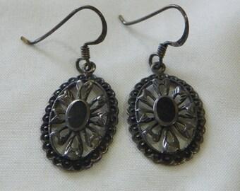 vitage silver earrings