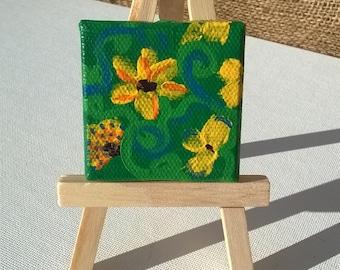 Mini Flowers Painting