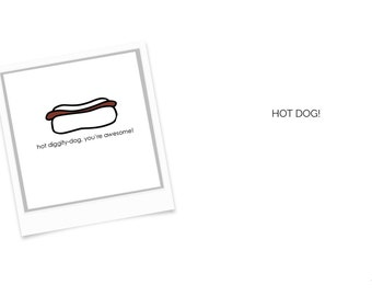Funny Love Cards, Hello Cards, Kids Cards Instant Download or Printed Just For You