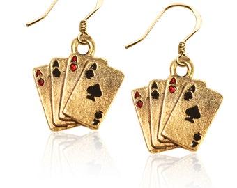 Aces Earrings