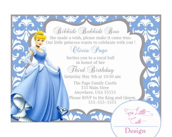 Cinderella Invitation