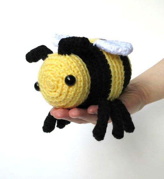Amigurumi Stuffed Animals Patterns : Bee amigurumi patterns - two bumble bee patterns, large ...