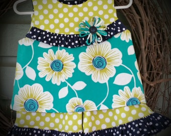 Ruffle Bodice Top with Capris 12 months