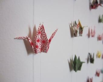 Origami Crane Garland