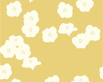Jay-Cyn Designs - Mod Basics 2 - Poppies in Sun - Organic Cotton
