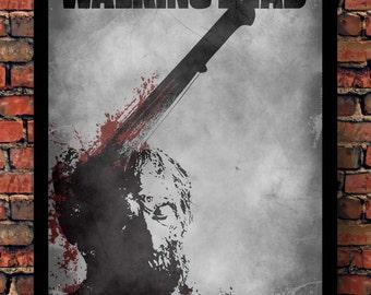 The Walking Dead Machete Zombie Print