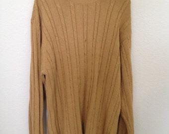 Vintage Goldenrod Sweater