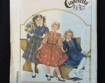 Simplicity 7627 Cinderella Girls Dress Pattern
