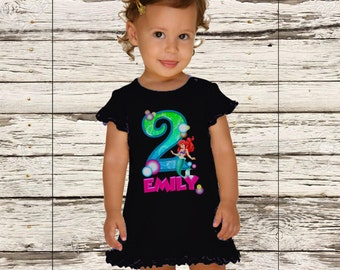 Little Mermaid Birthday Dress - Princess Ariel Dress