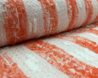 Orange Pebble Picnic and Beach Blanket with Denim Strap