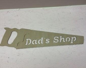 Dad's Shop Handsaw Art